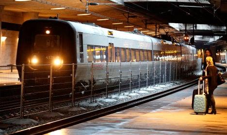 Sweden-Denmark border rail fence completed