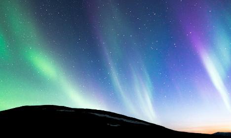 Mystic Northern Lights dazzle Swedish skies