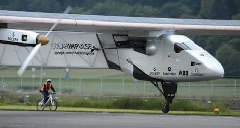 Swiss solar plane set to resume flight in April