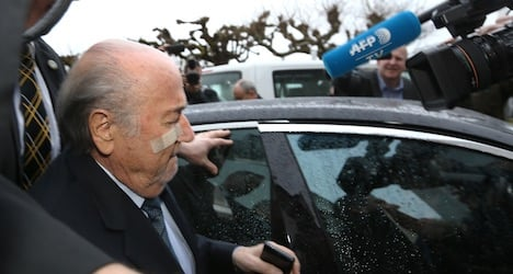 Isolated Blatter devastated by Fifa ban