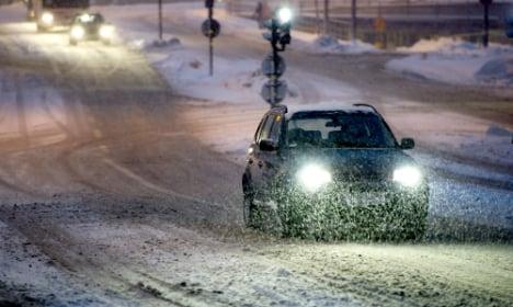 Winter storm set to sweep across Sweden