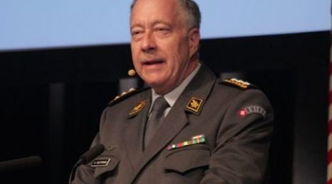 Swiss army chief warns of terrorism and unrest