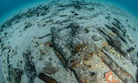 800-year-old shipwreck found off Salento coast