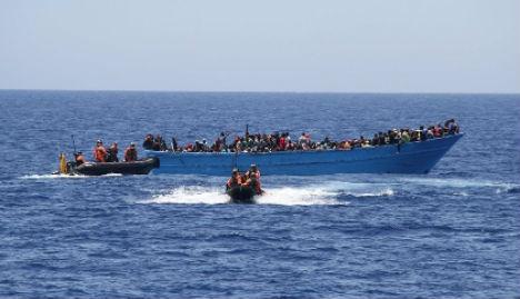 German navy rescued 10,000 migrants in Med