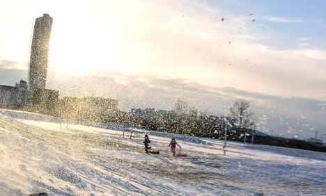 Swedish fire alert set off by rare winter sunshine