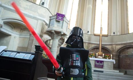 German church holds 'Star Wars' service