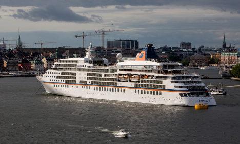 Swedish cruise ship to house 1,260 refugees