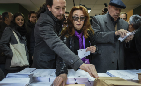 'Out with the old': Many Spanish voters opt to cast ballot for change