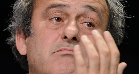 Uefa 'disappointed' over Fifa's Platini ban