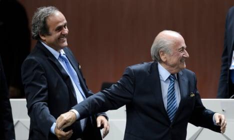 Frenchman Platini lands eight-year football ban
