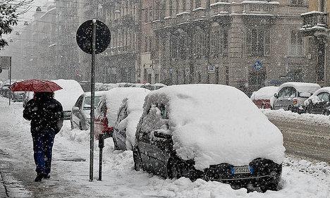 Snow forecast as festive season ends