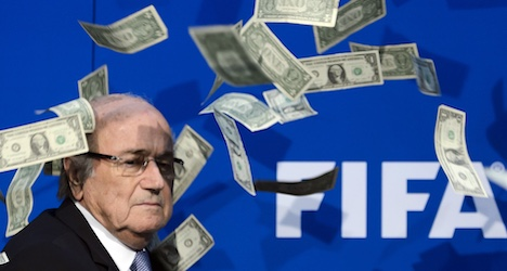 'Disloyal payment' undid world football's leaders