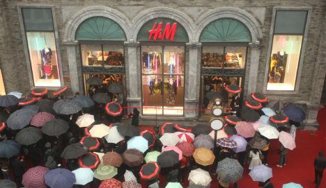 H&M to enter new markets after profit rise