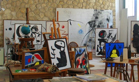 Studio of Spanish surrealist Joan Miró recreated in London
