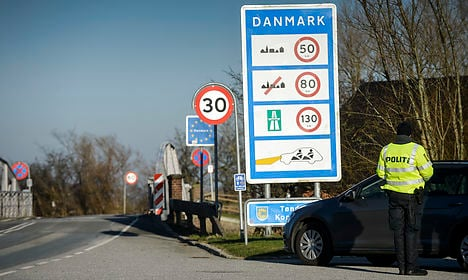 Denmark extends border controls with Germany