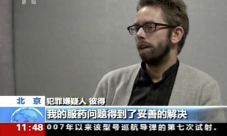 Swedish activist held in China returns home