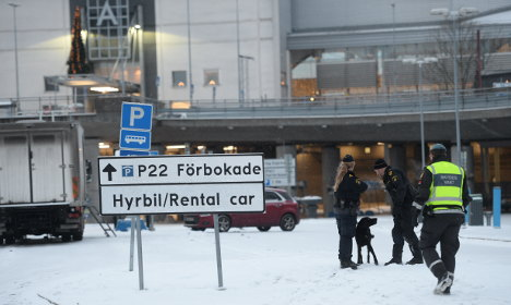 Swedish airport scare was not caused by bomb