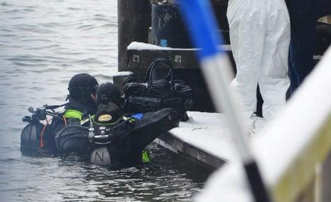 Drowned man encased wife's head in concrete