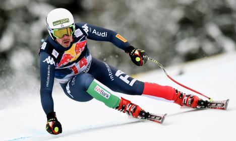 Italian Fill wins thrilling Kitzbühel downhill