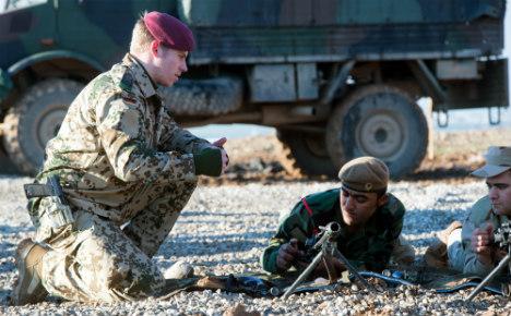 Kurdish fighters sell off German-supplied guns
