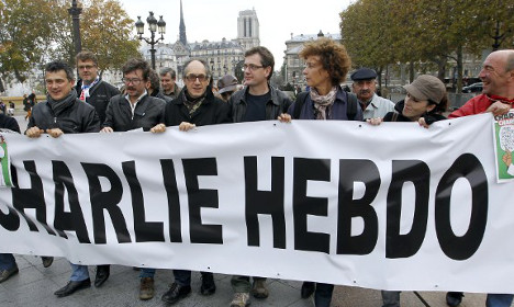 Charlie Hebdo one year on: 'We can't give up'
