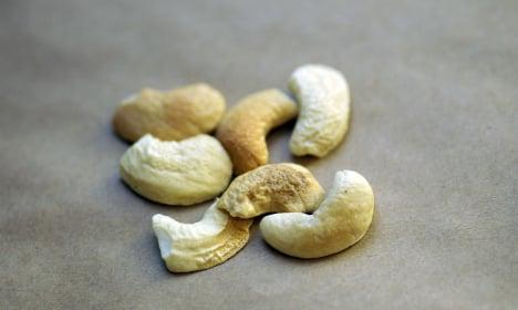 Nuts! Swedish police probe weird cashew haul