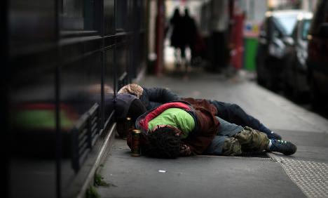 Homeless man 'freezes to death' in sub-zero Paris
