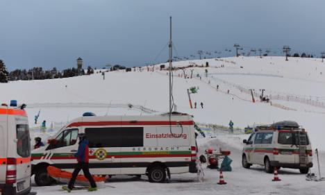 Two skiers die in head-on collision in German Alps