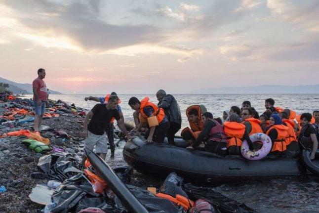 Austria urges Greece to bolster sea border