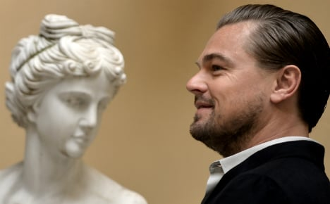 DiCaprio gets Papal audience in Rome