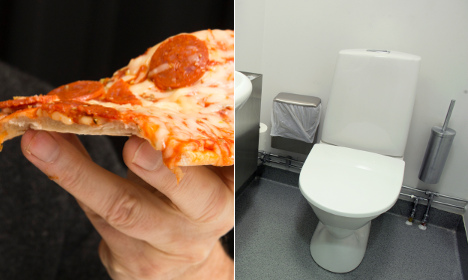 Pizza thieves flushed out after owner hits back