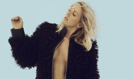 Ellie Goulding had close call on frozen lake in Norway