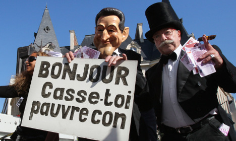 Sarkozy says sorry for 'P*ss off you idiot' and other gaffes