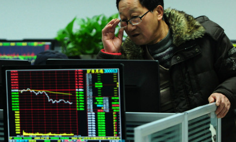 China troubles spook investors in Germany
