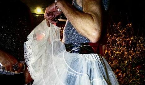 Barcelona firemen save groom trapped in bar wearing a tutu