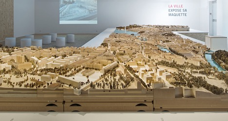 Miniature model of Geneva goes on display