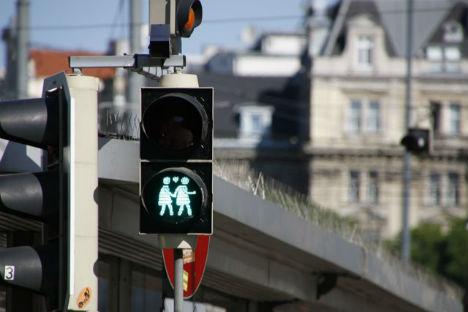 Linz gets its gay-themed traffic lights back