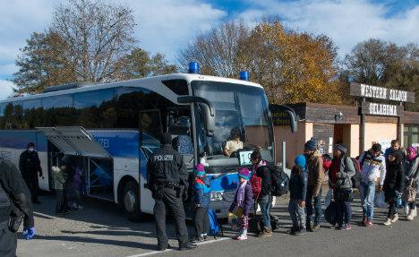Maddened local leader sends bus full of refugees to Merkel