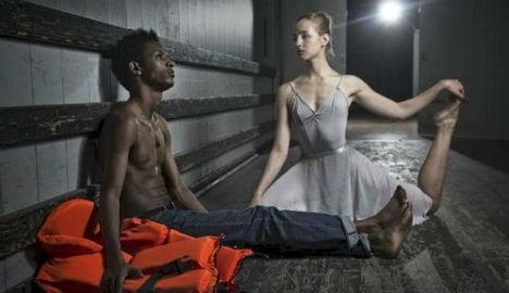 Disappearing cast haunts Danish asylum ballet