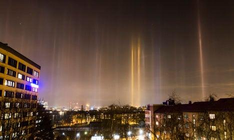 Rare light phenomenon spotted in Oslo skies