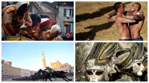 Five crazy Italian festivals nobody should miss