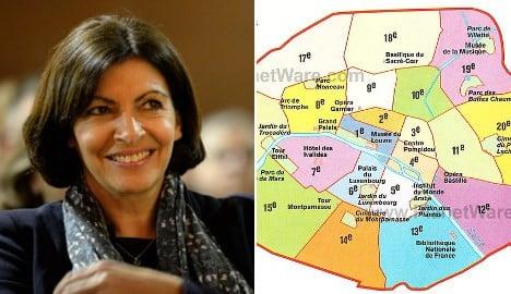 Paris mayor to wipe three arrondissements off the map