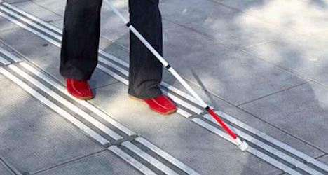 Zurich station told to yank pathways for blind