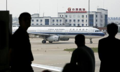 China stops access to Swedish campaigner