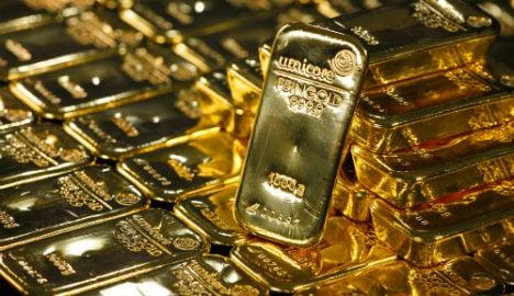 Millions in gold dug up in Bavarian garden