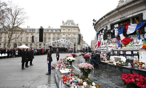 France remembers Charlie Hebdo attacks