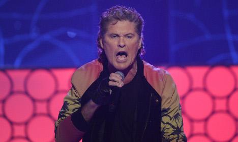 David Hasselhoff lashes out at Swedish host's putdown