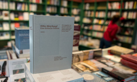 'Mein Kampf' sells out as publisher rushes to print more