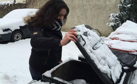 Newborn found abandoned in rubbish bin