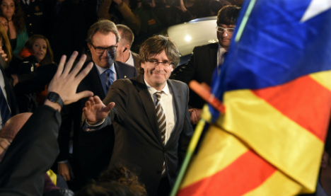 Catalonia ends deadlock appointing new leader in breakaway drive